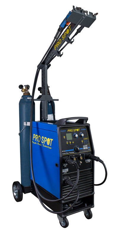 SP-5.3 3-Phase Smart Double Pulse MIG Welder