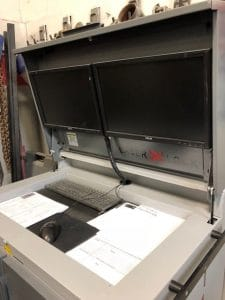 Used Chief Laser Lock Electronic Measuring System