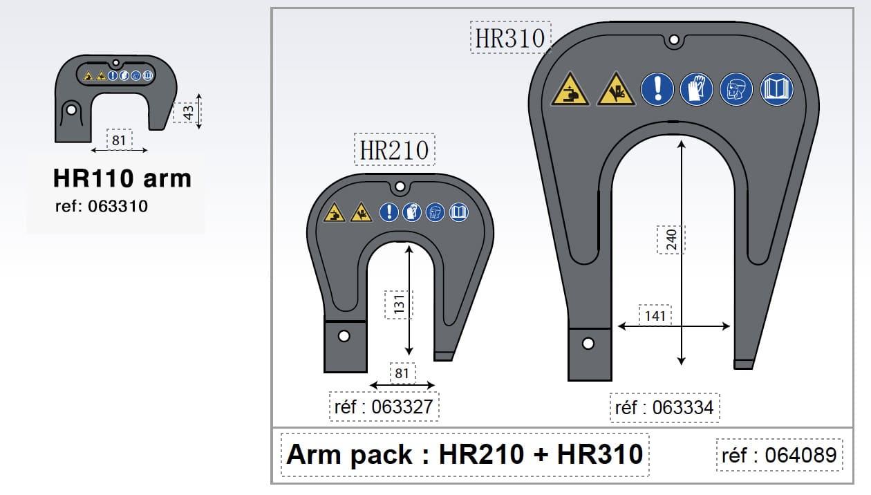 Rivet arms-1